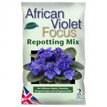 Mix do fiolkow afrykanskich African Violet Repotting Mix 2L