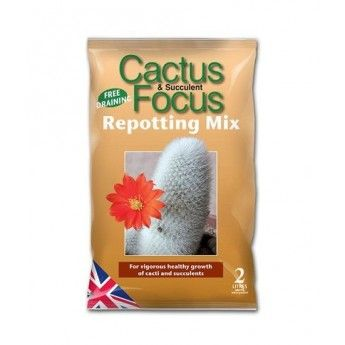 Mix dla kaktusow Growth Technology Cactus&Succulent Focus Repotting Mix 8L