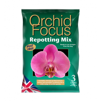 Mix do storczykow Orchid Repotting Mix 3L