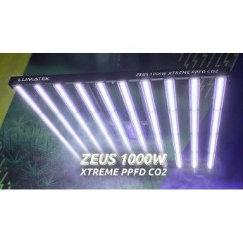 Lumatek LED Zeus 1000W Xtreme PPFD CO2