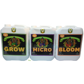 Zestaw nawozów Advanced Nutrients 3x4L Grow Bloom Micro pH perfect