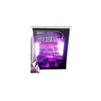 Zestaw do uprawy LED Hydro shoot 80 +  SPECTROLIGHT STARTER BLOOM BOOSTER 125W