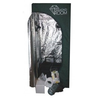 Zestaw do uprawy roslin  growbox Diamond Room 40x40x120cm 18W DUAL