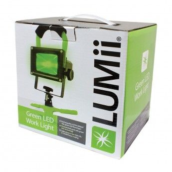 Lampa led 10W Lumii green / do obserwacji roslin