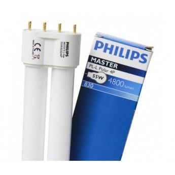 Neon Philips Master PL-L 4P 55w 6500k wzrost
