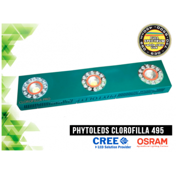 LED Panel Phytoled CLOROFILLA CREE 3070 495W Full spectrum PRO