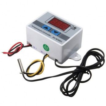 Regulator temperatury W3001 - od -50 do 110C - 12V - Termostat