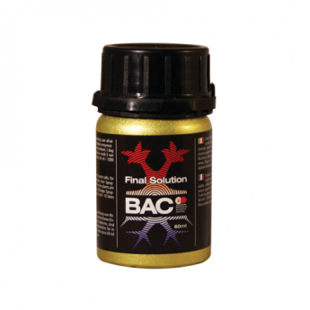 BAC Final solution 120ml - organiczne enzymy